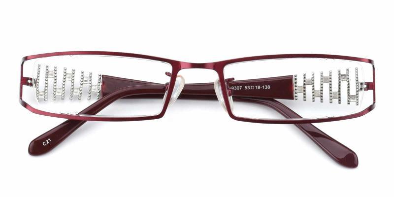 Akili-Red-Eyeglasses