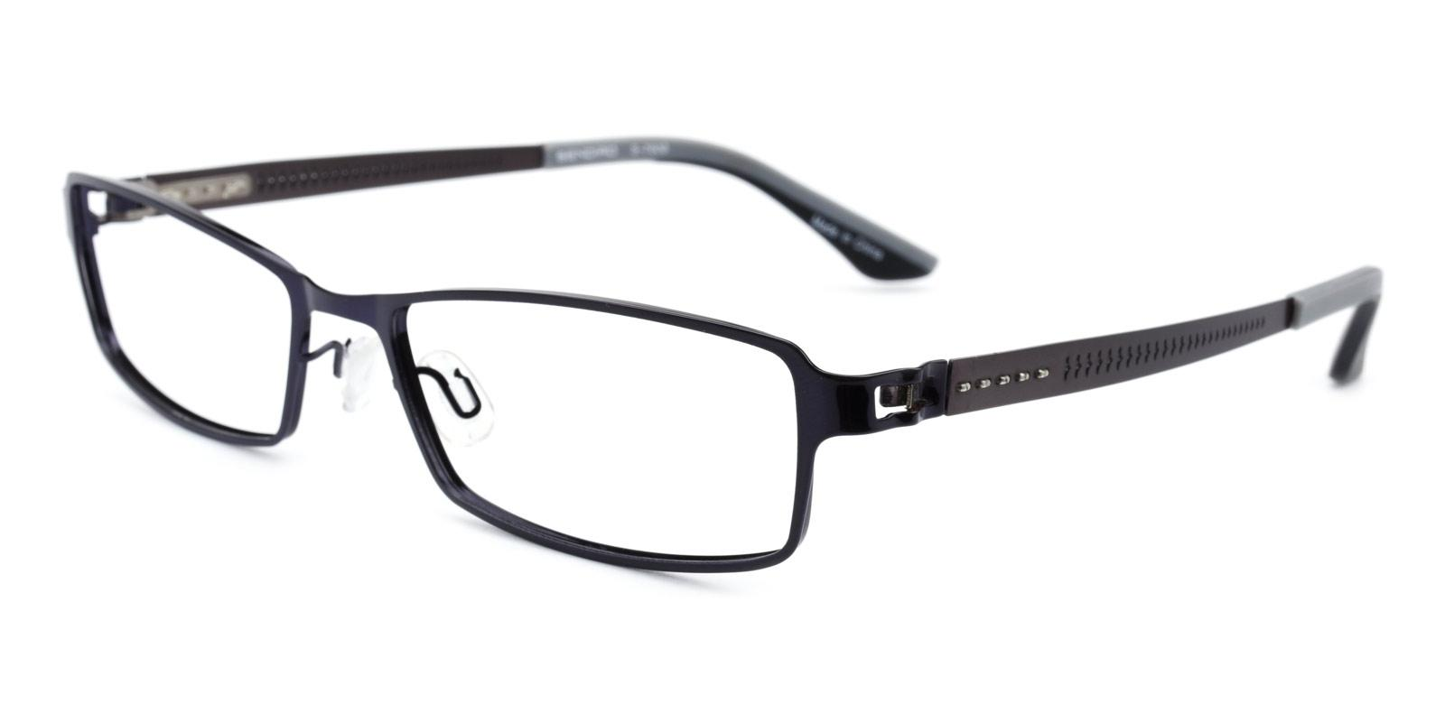 Benson-Black-Rectangle-Metal-Eyeglasses-additional1