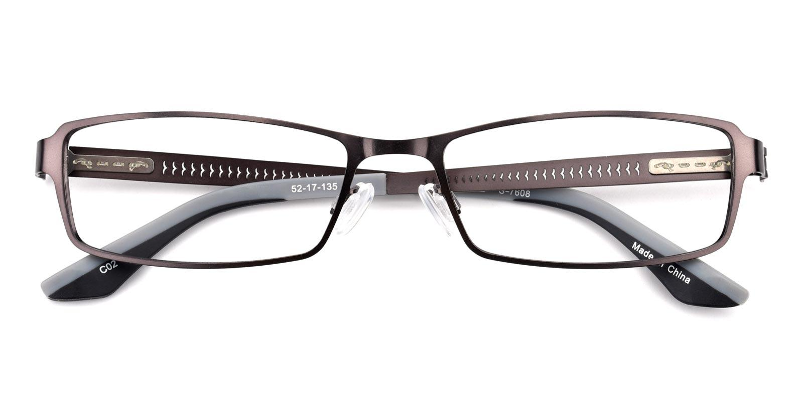 Benson-Gun-Rectangle-Metal-Eyeglasses-detail