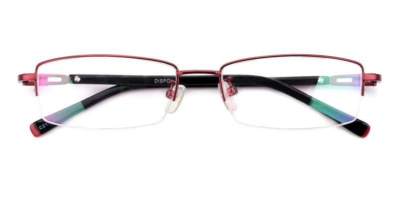 Coliny-Red-Eyeglasses