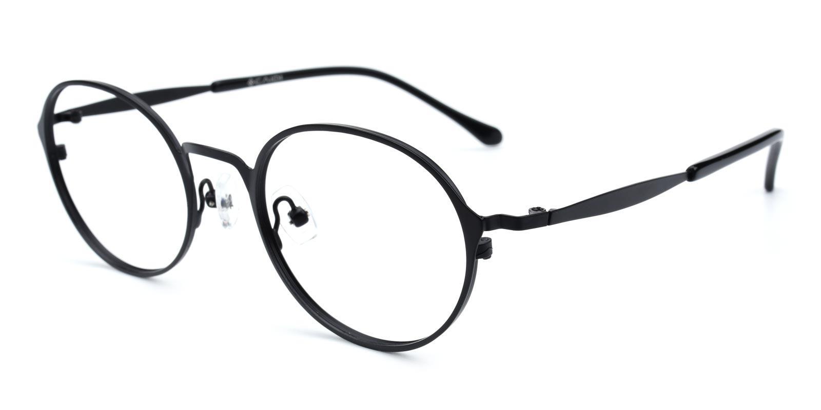 Gulio-Black-Oval-Metal-Eyeglasses-additional1