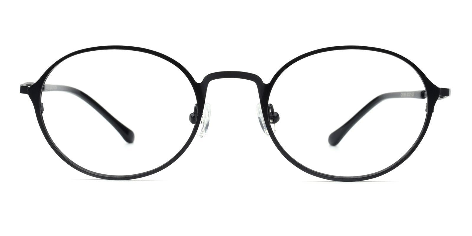 Gulio-Black-Oval-Metal-Eyeglasses-additional2