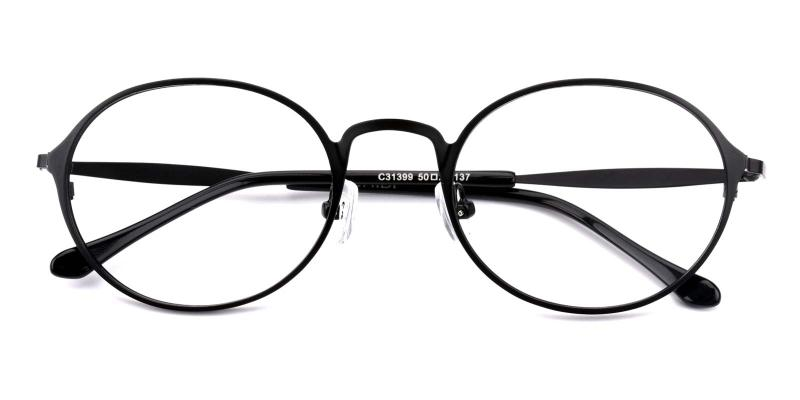 Gulio-Black-Eyeglasses