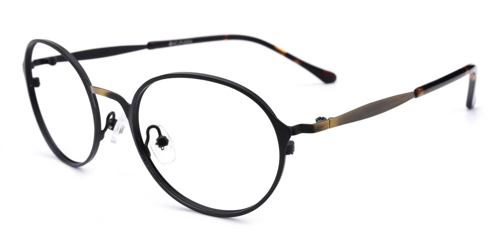 Gulio-Brown-Oval-Metal-Eyeglasses-additional1