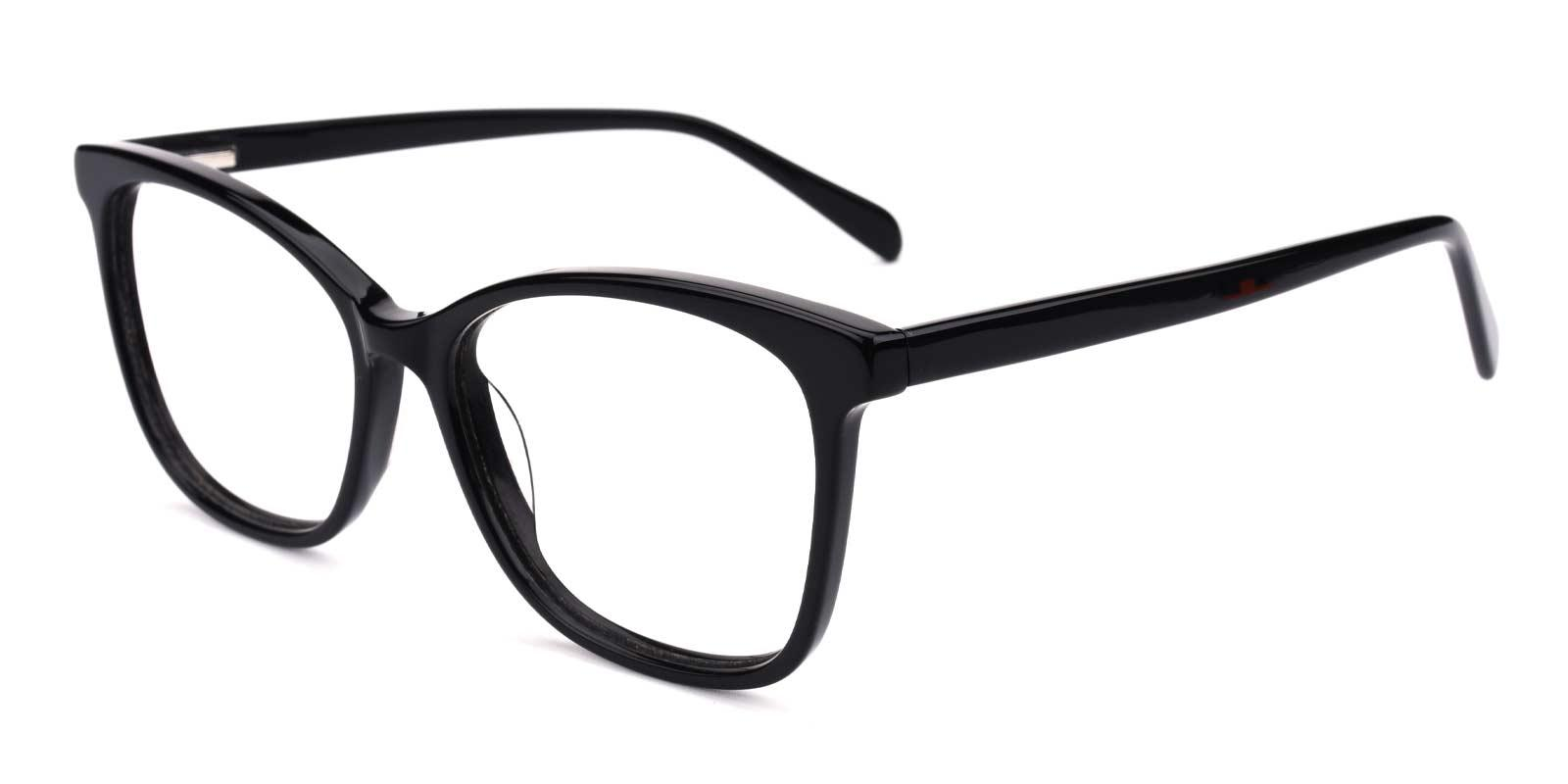 Poppy-Black-Square-Acetate-Eyeglasses-detail