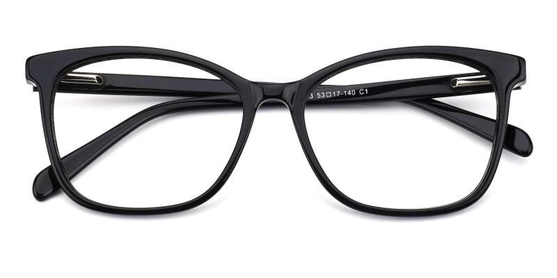 Poppy-Black-Eyeglasses