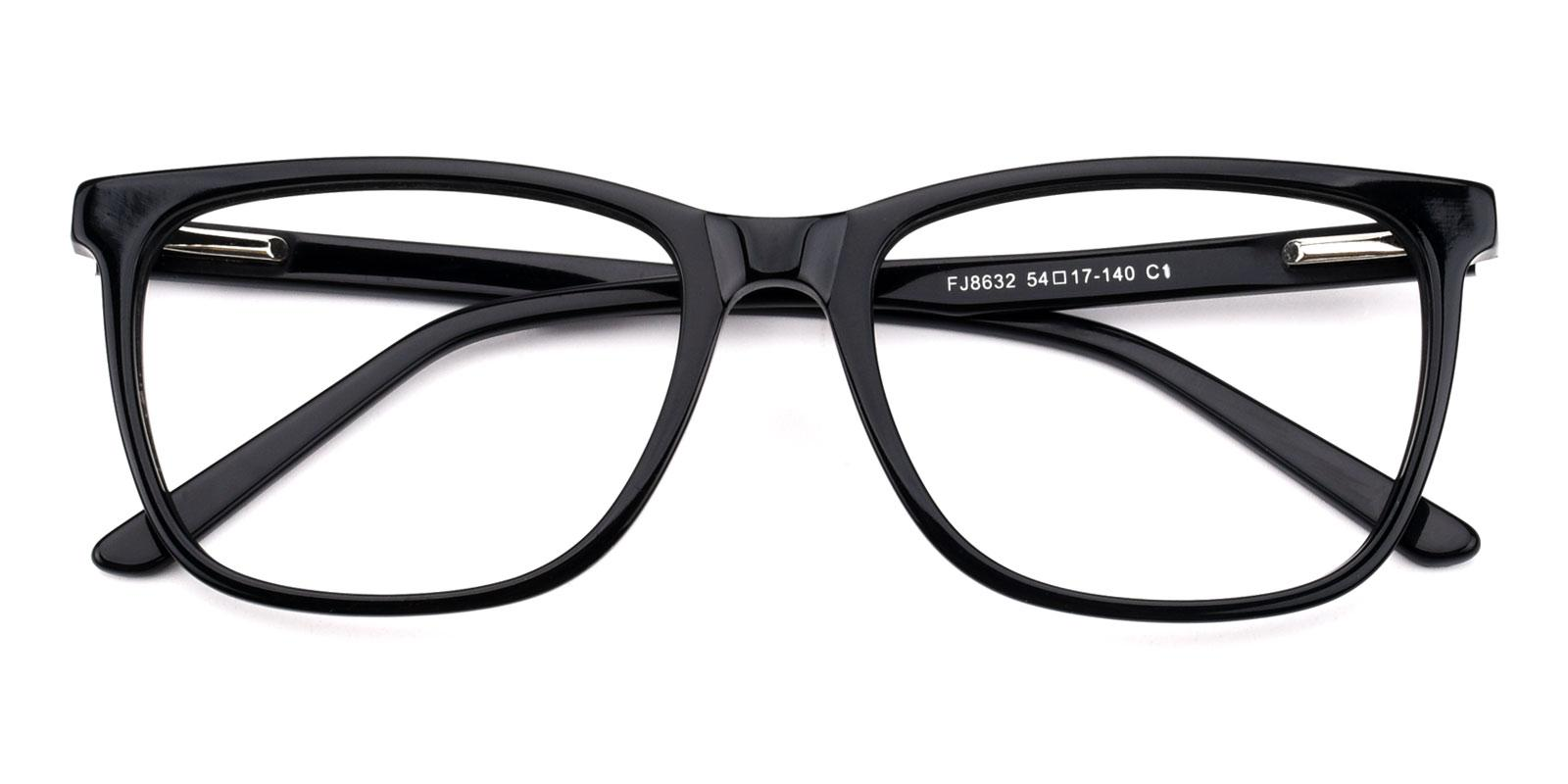 Genter-Black-Square-Acetate-Eyeglasses-detail