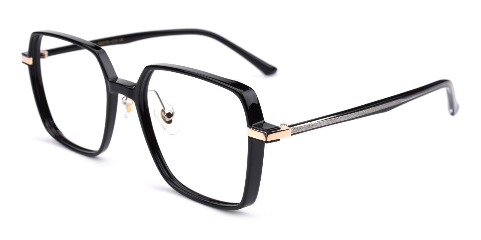 Decent-Black-Geometric-Acetate-Eyeglasses-additional1