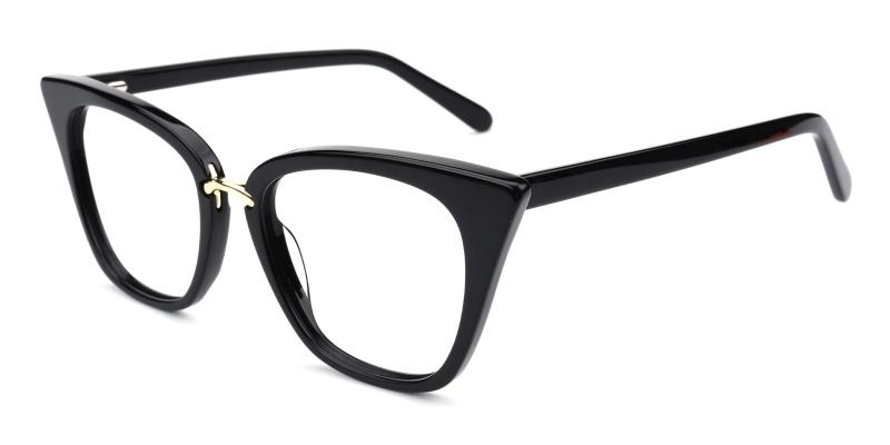 Jasmine-Black-Eyeglasses