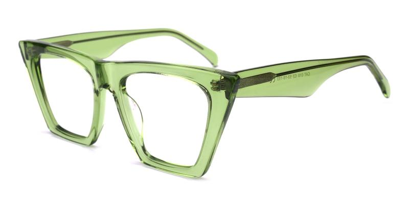 Alva-Green-Eyeglasses