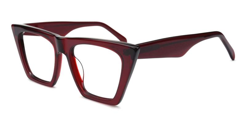 Alva-Red-Eyeglasses