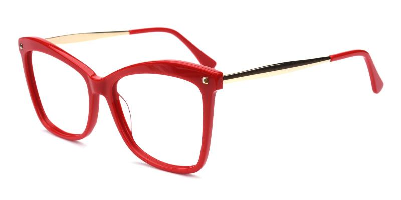 Gleen-Red-Eyeglasses