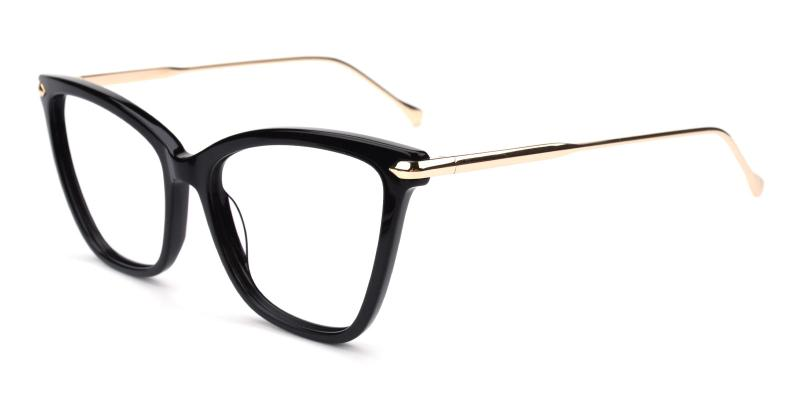 Queenie-Black-Eyeglasses