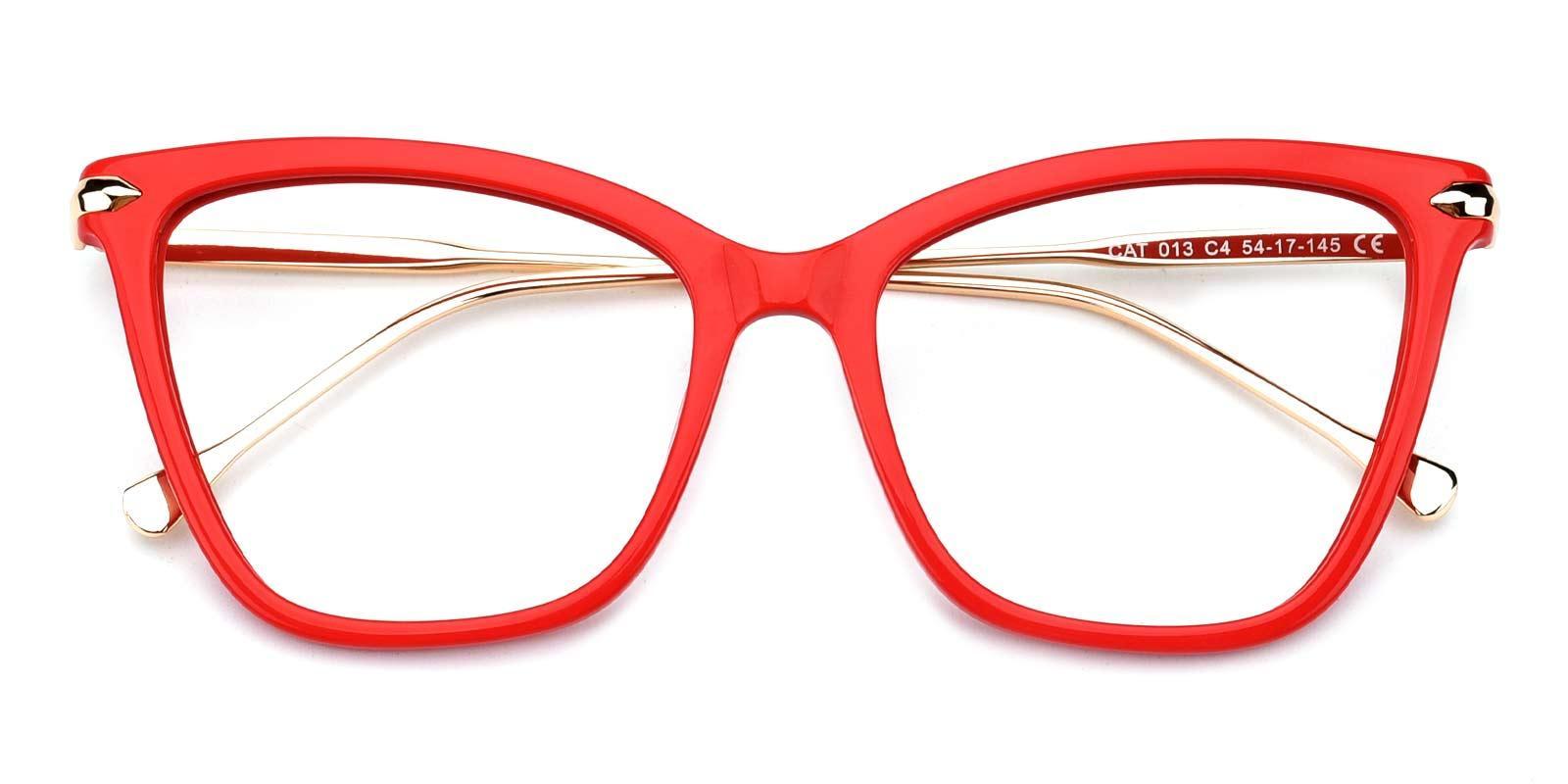Queenie-Red-Cat-Combination-Eyeglasses-detail