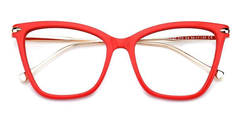 Queenie-Red-Eyeglasses
