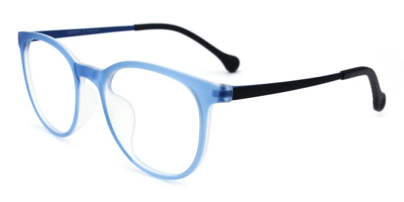Aaron-Blue-Eyeglasses