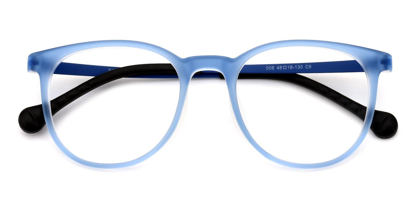 Aaron-Blue-Round-Combination-Eyeglasses-detail