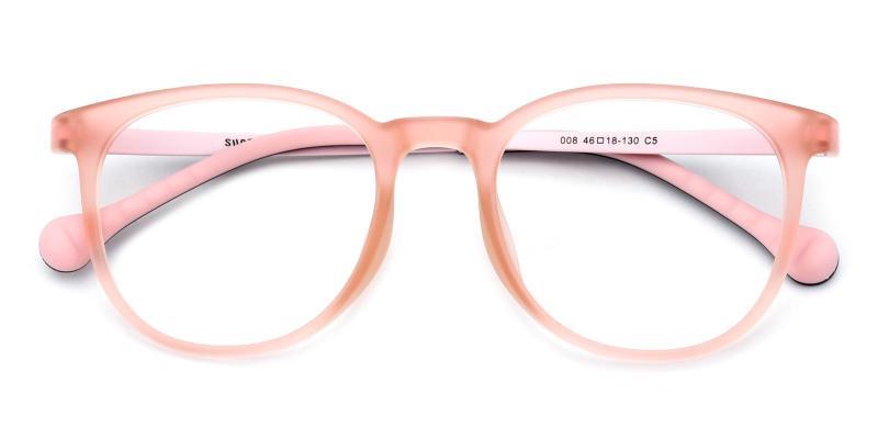 Aaron-Pink-Eyeglasses
