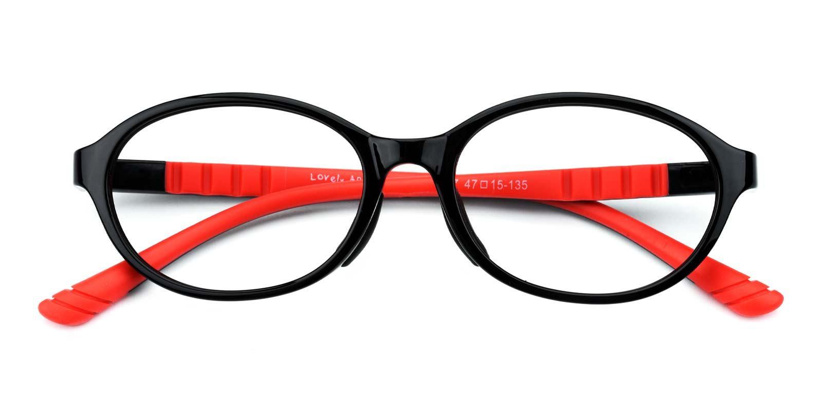 Charles-Red-Oval-TR-Eyeglasses-detail