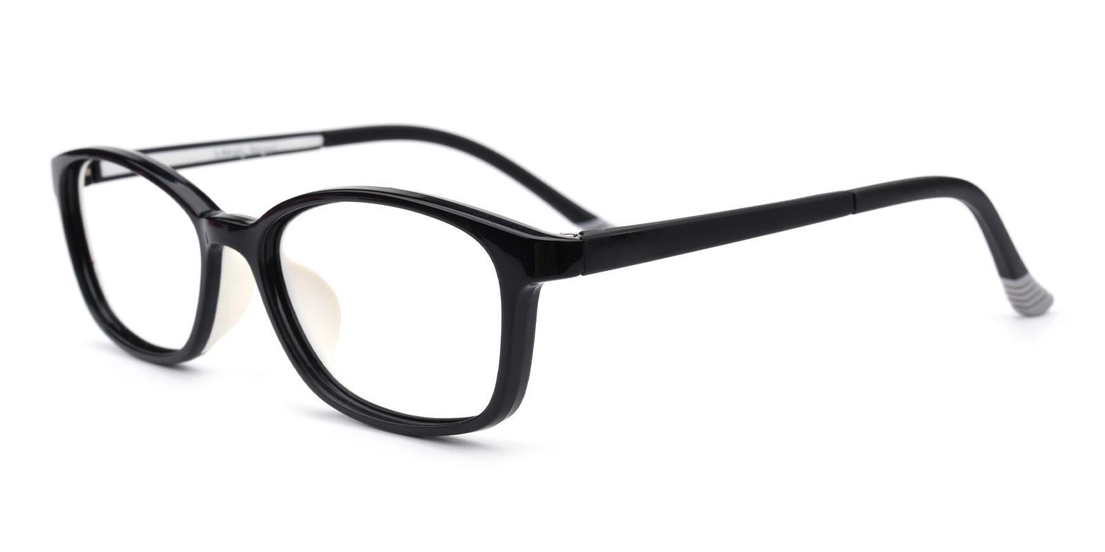 Taylor-Black-Rectangle-TR-Eyeglasses-detail