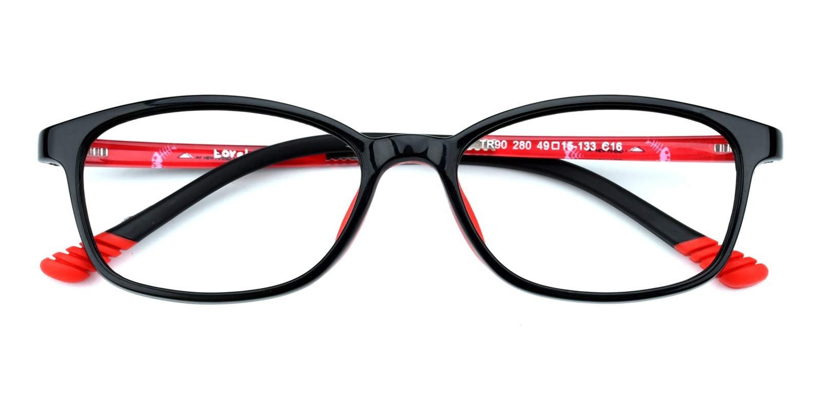 Taylor-Red-Rectangle-TR-Eyeglasses-detail