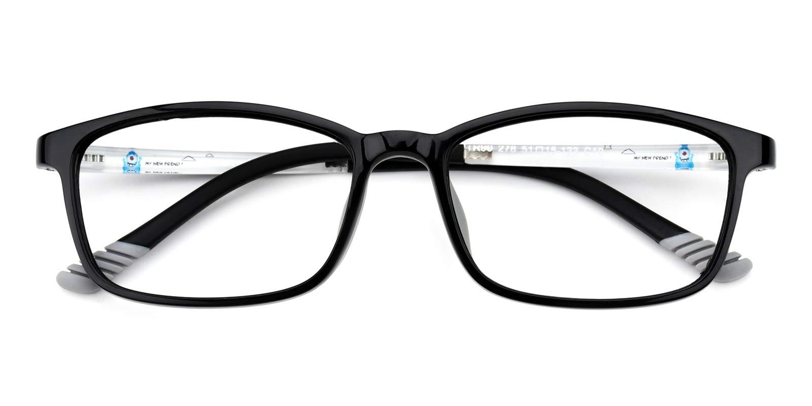 Autum-Black-Rectangle-TR-Eyeglasses-detail
