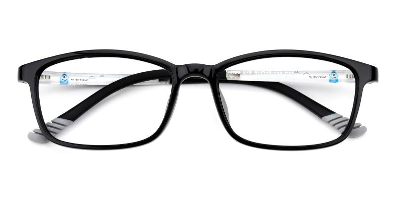 Autum-Black-Eyeglasses