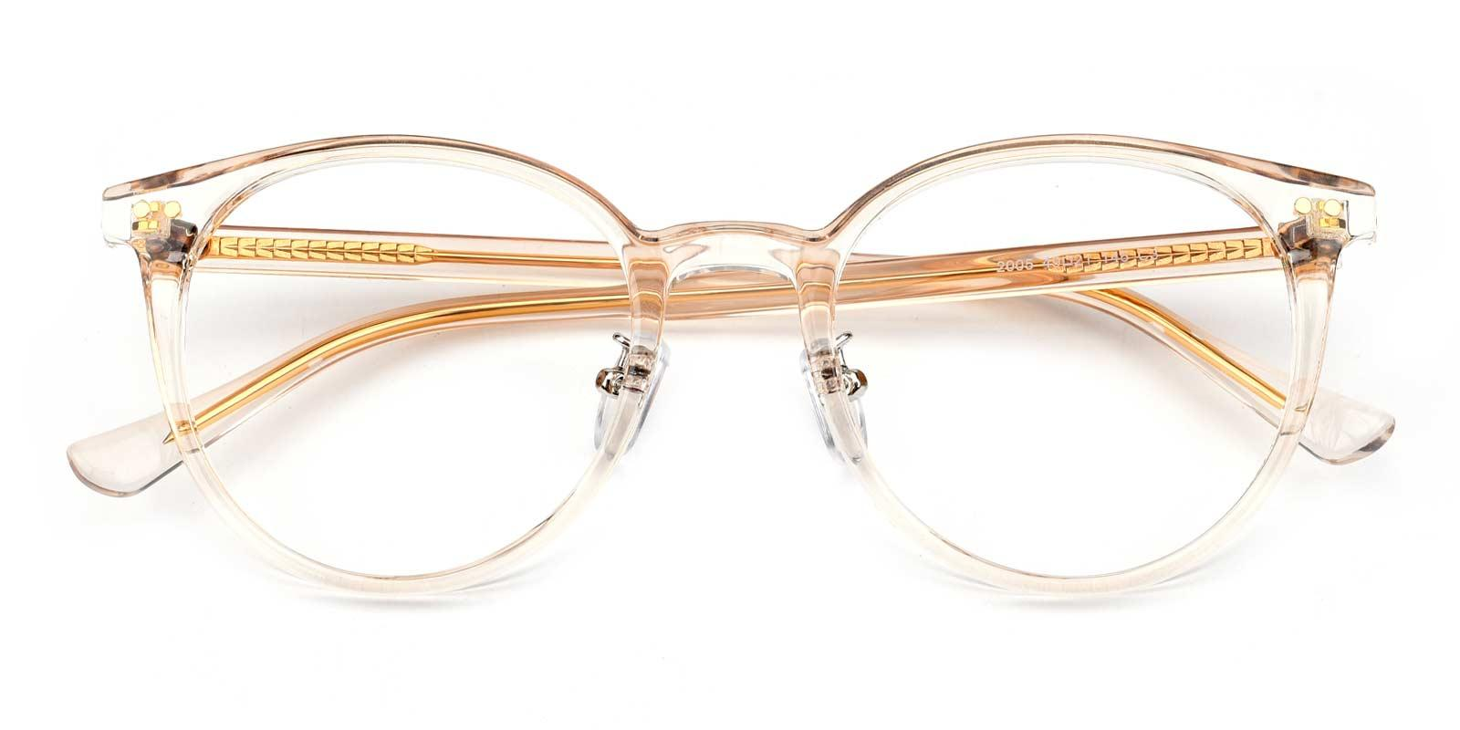 Adonia-Orange-Round-Combination-Eyeglasses-detail