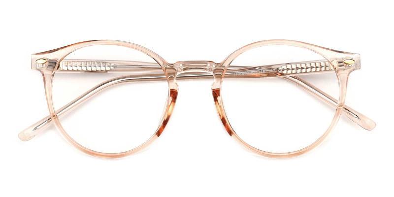 Cain-Orange-Eyeglasses