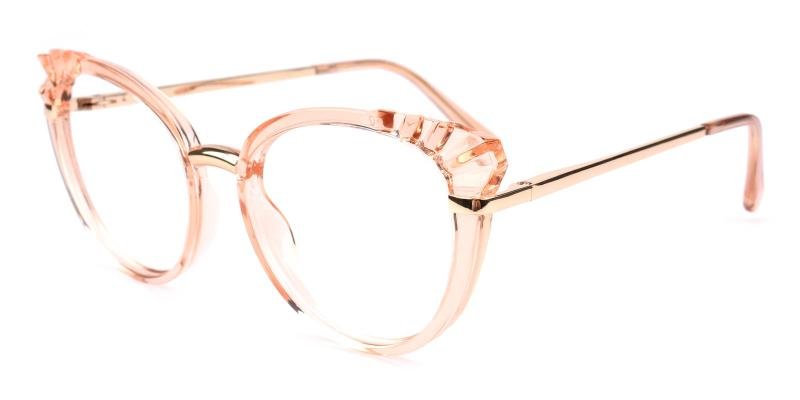 Damara-Orange-Eyeglasses