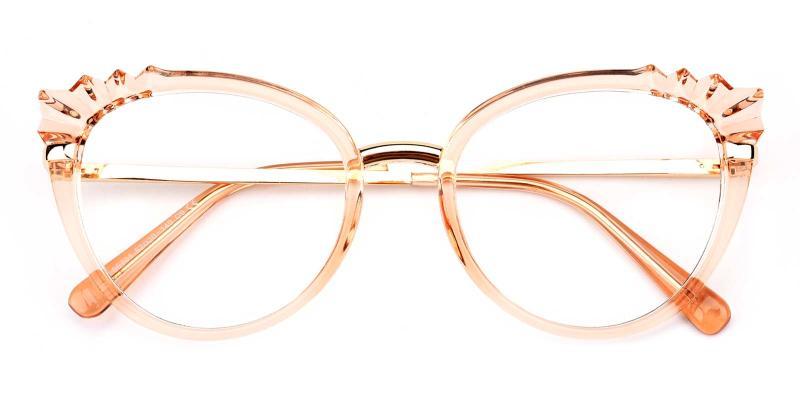 Damara-Orange-Eyeglasses