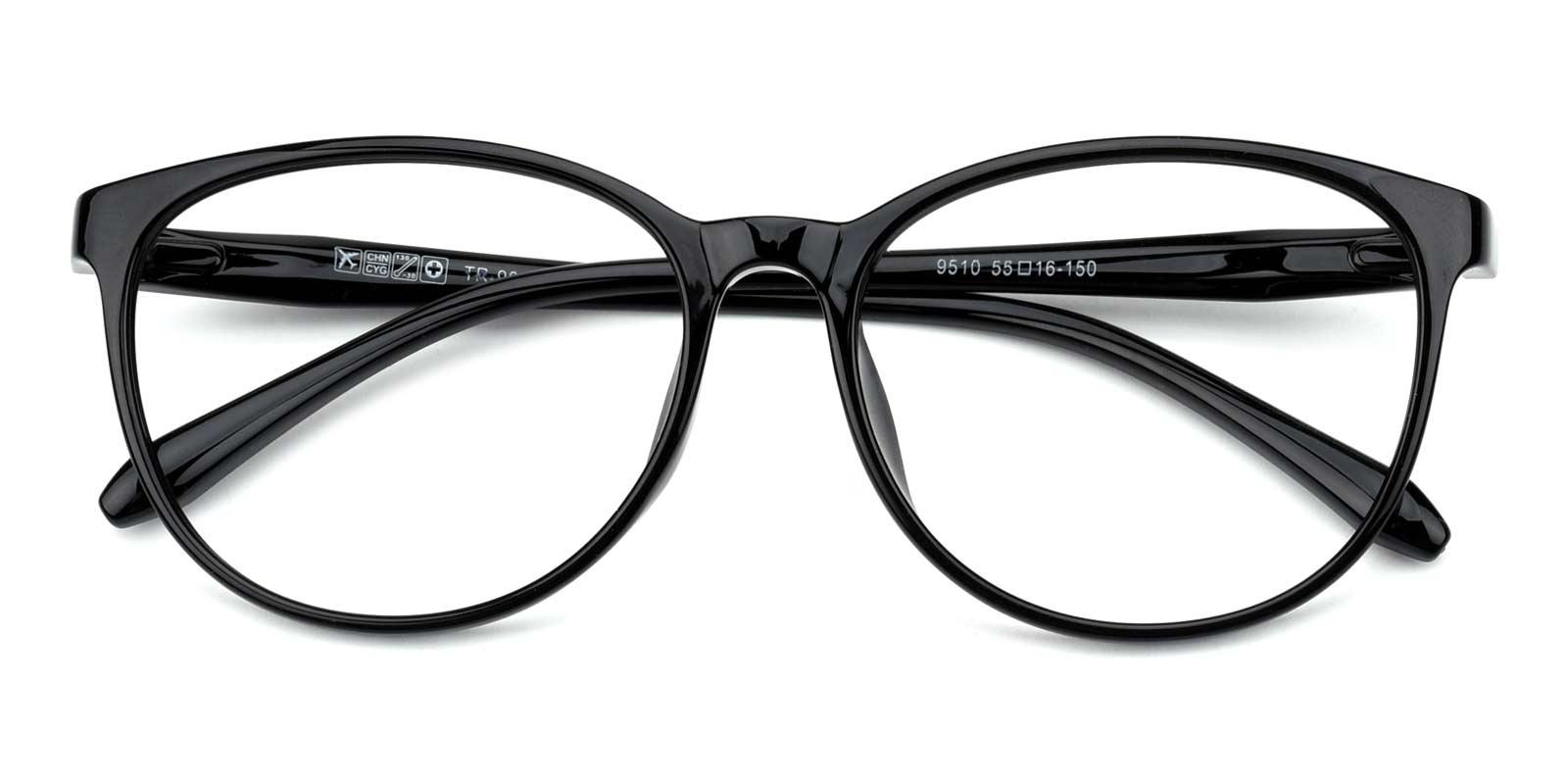 Jay-Black-Round-TR-Eyeglasses-detail