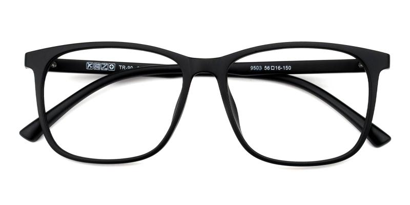 Gloria-Black-Eyeglasses