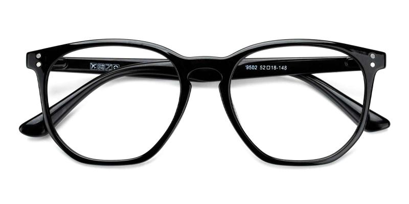 Claire-Black-Eyeglasses
