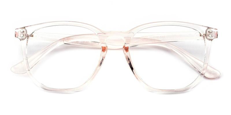 Claire-Orange-Eyeglasses