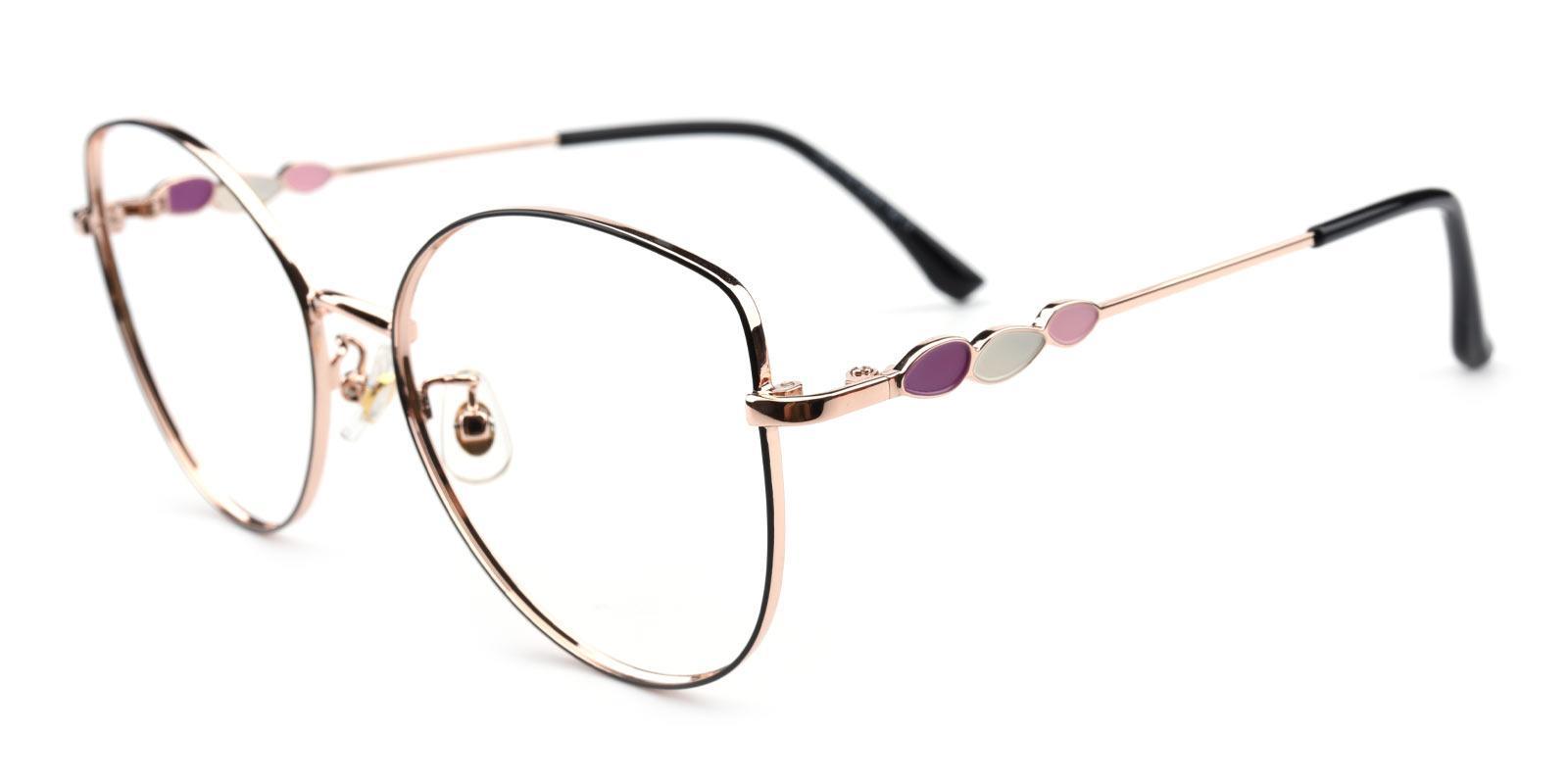 Haley-Gold-Cat-Metal-Eyeglasses-additional1