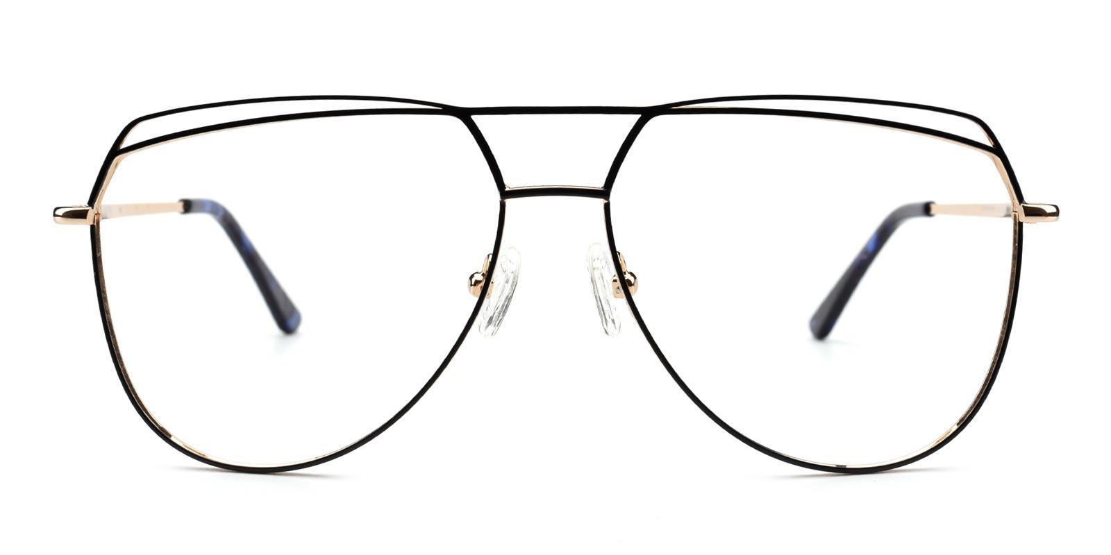 Nicole-Black-Aviator-Metal-Eyeglasses-additional2