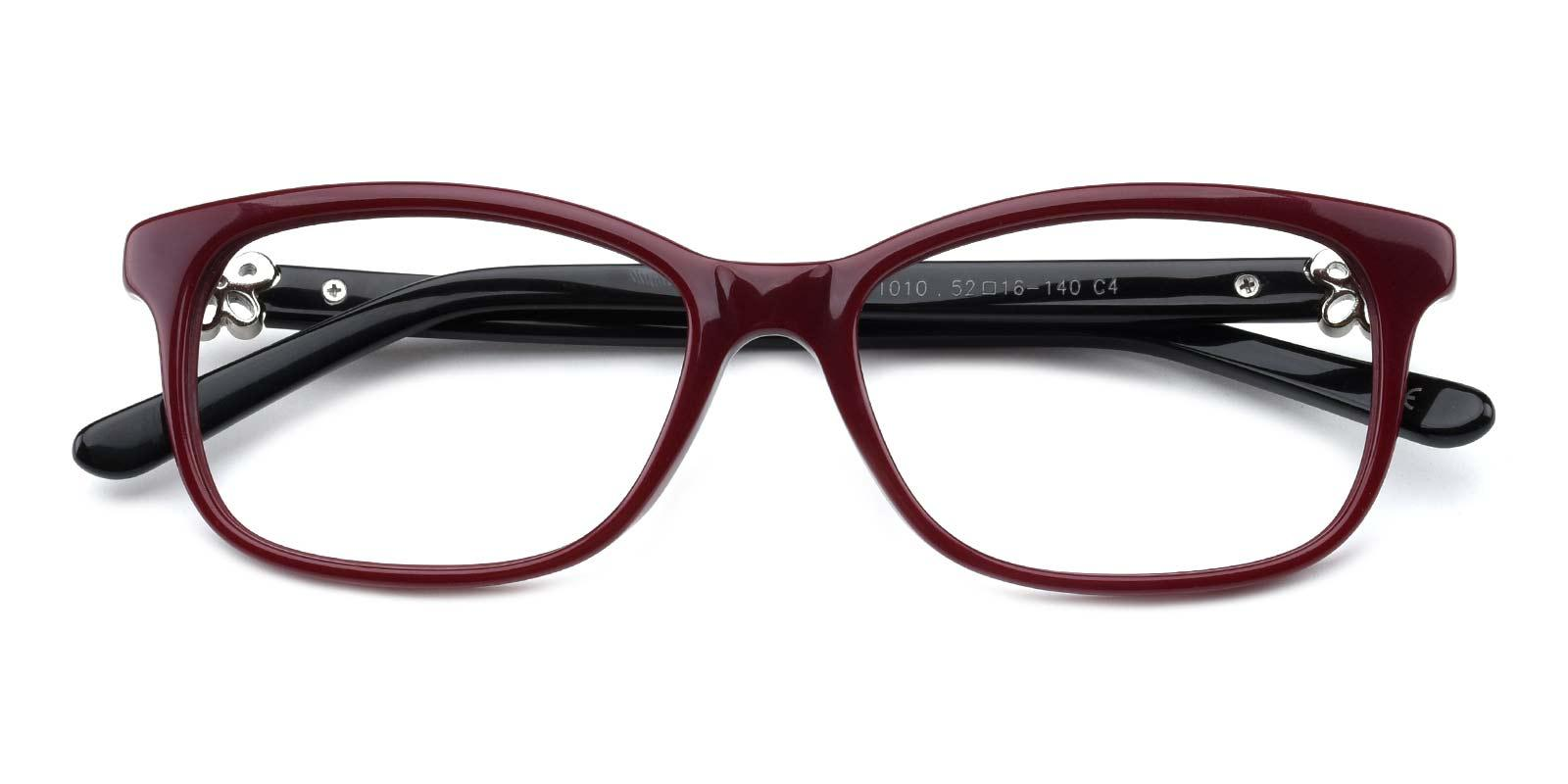 Afterwards-Red-Rectangle-TR-Eyeglasses-detail