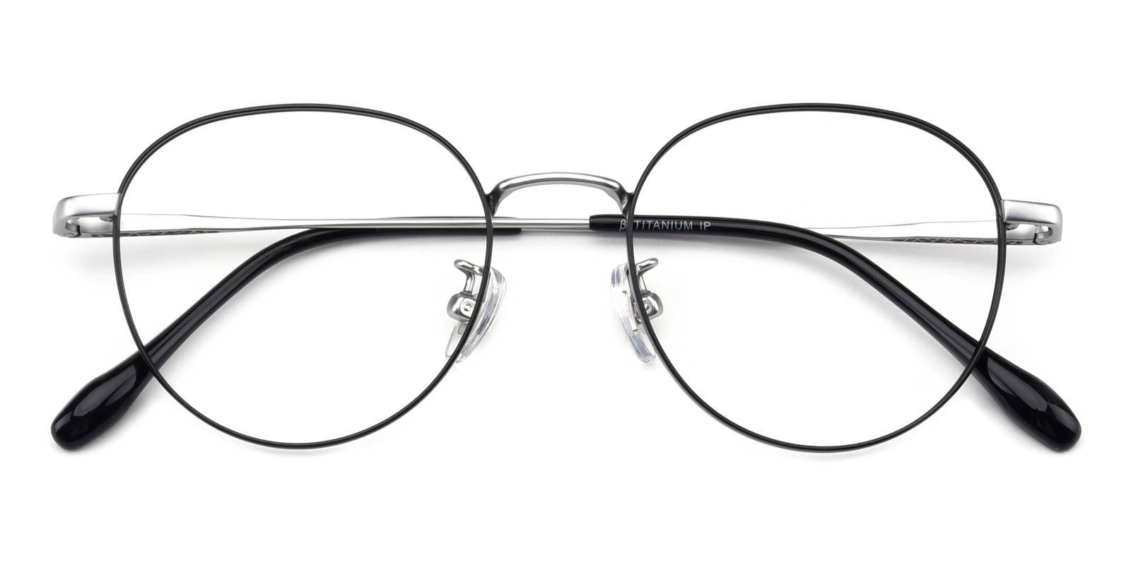 North-Black-Round-Titanium-Eyeglasses-detail