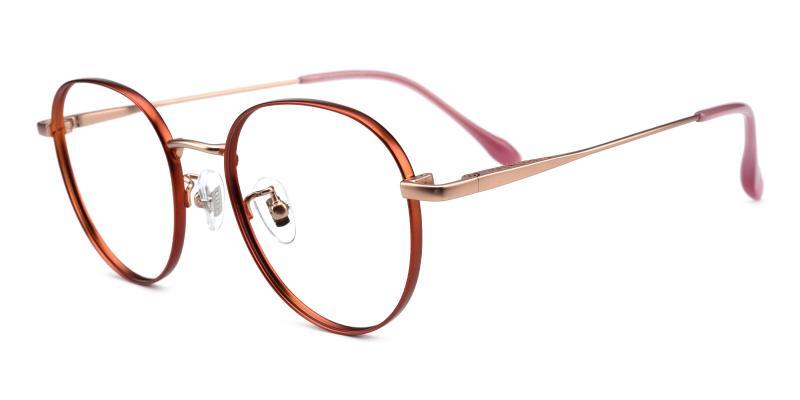 North-Orange-Eyeglasses
