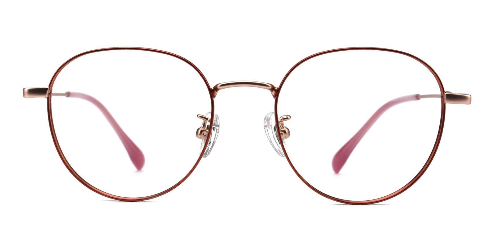 North-Orange-Round-Titanium-Eyeglasses-additional2