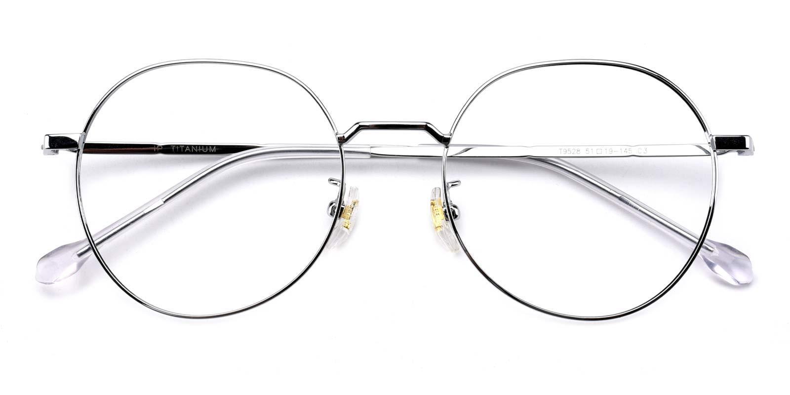 Berkeley-Silver-Round-Titanium-Eyeglasses-detail