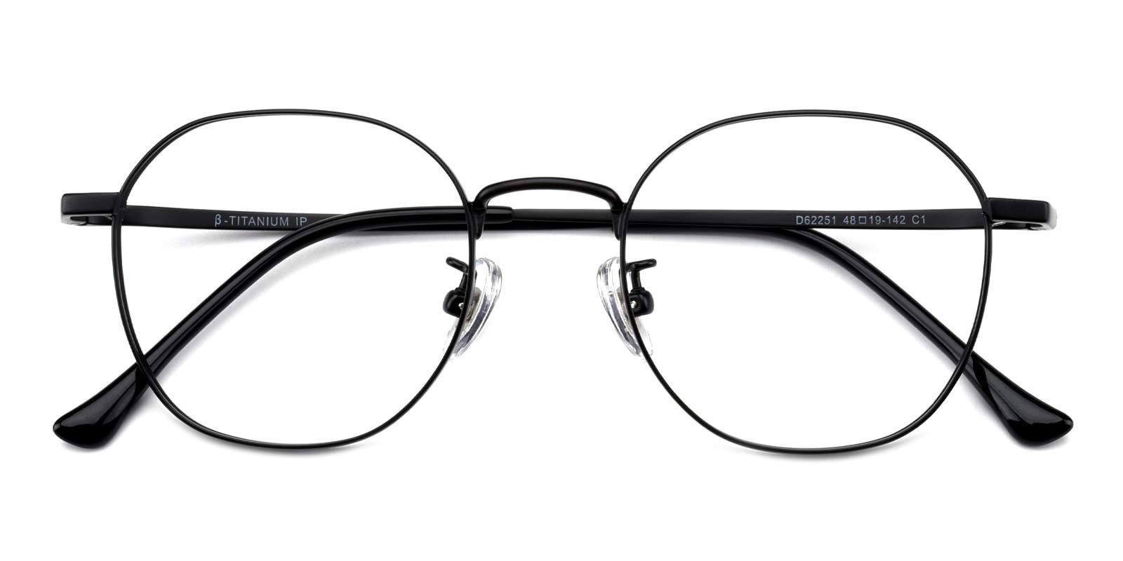 Iron-Black-Round-Titanium-Eyeglasses-detail