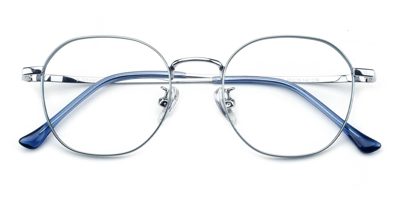 Iron-Blue-Round-Titanium-Eyeglasses-detail