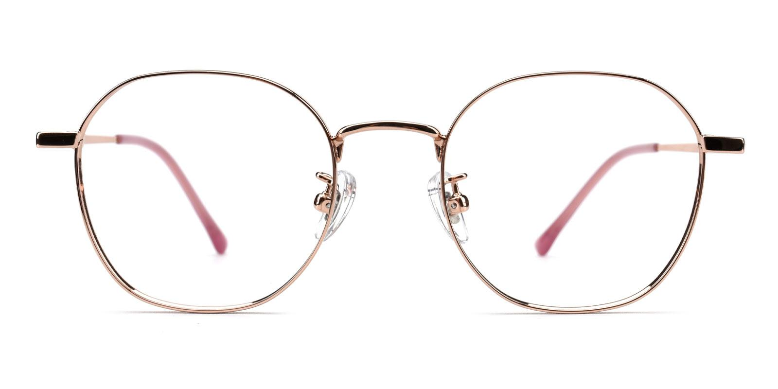 Iron-Pink-Round-Titanium-Eyeglasses-detail