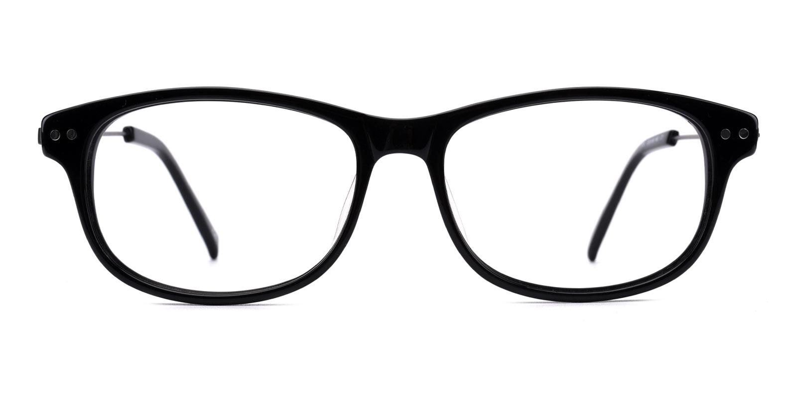 Gulmira-Black-Rectangle-Plastic-Eyeglasses-additional2