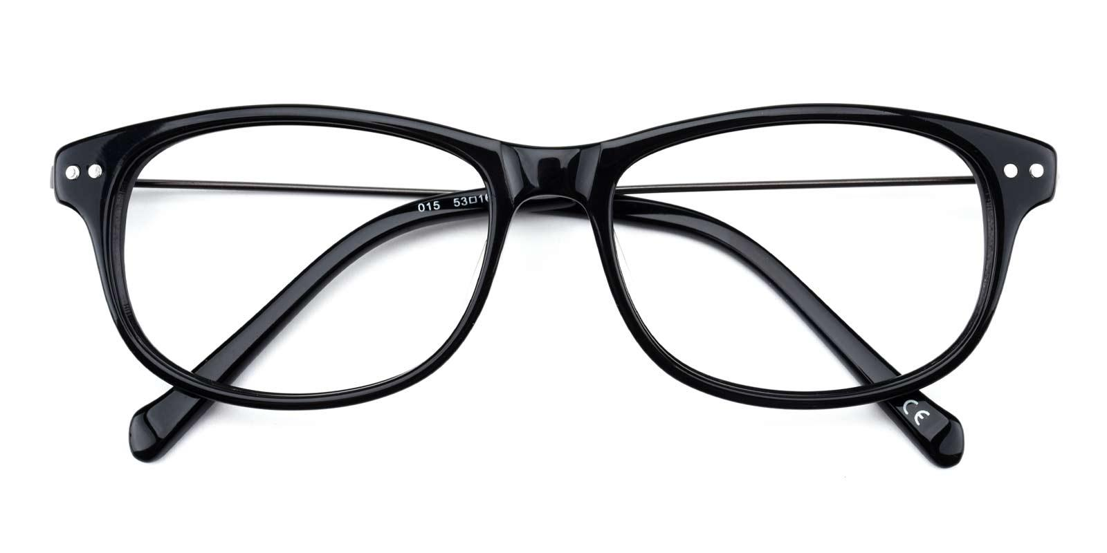 Gulmira-Black-Rectangle-Plastic-Eyeglasses-detail