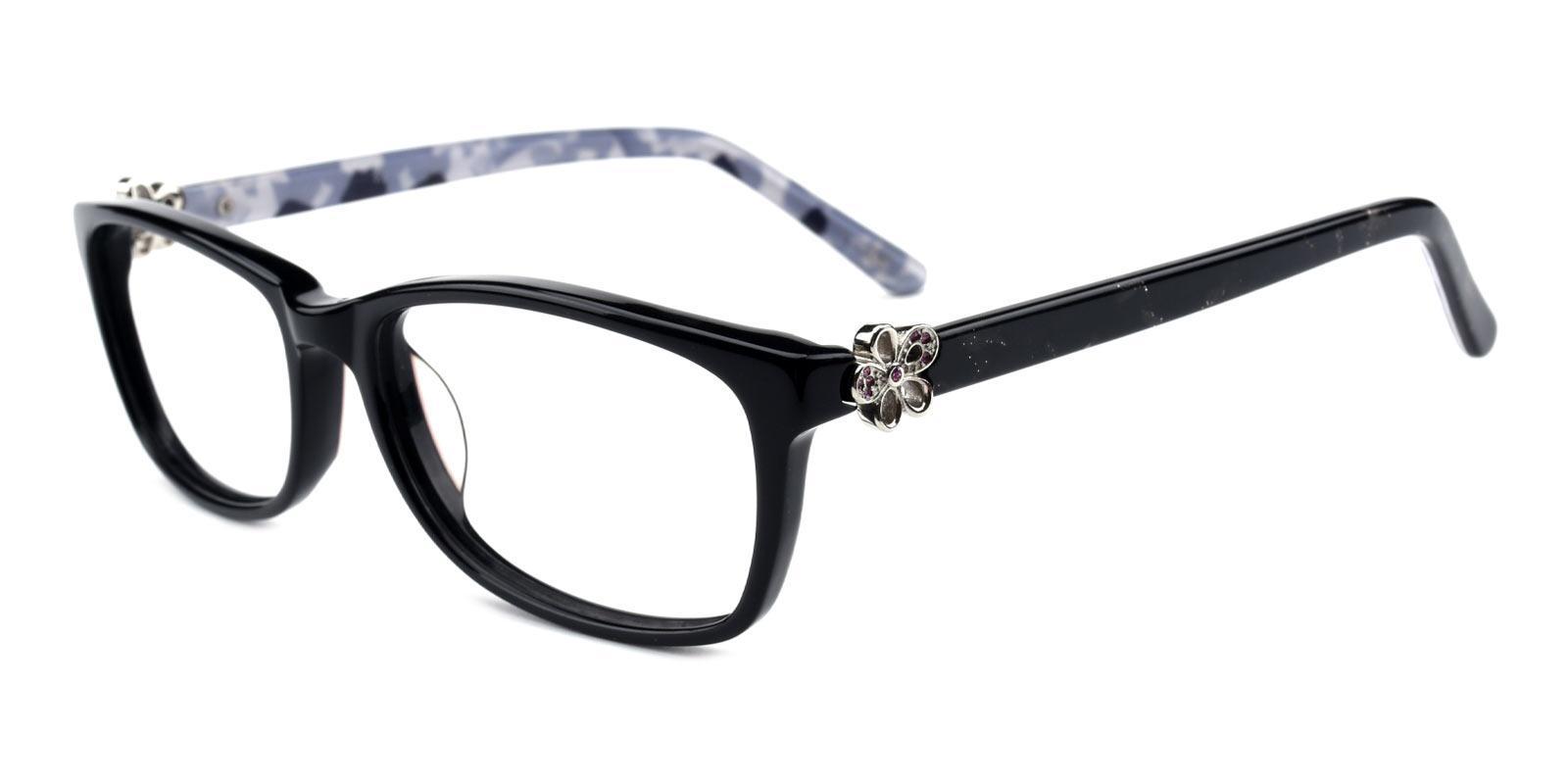 Rosemary-Black-Rectangle-TR-Eyeglasses-detail