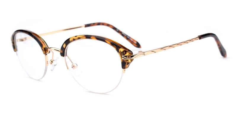 Quiller-Leopard-Eyeglasses