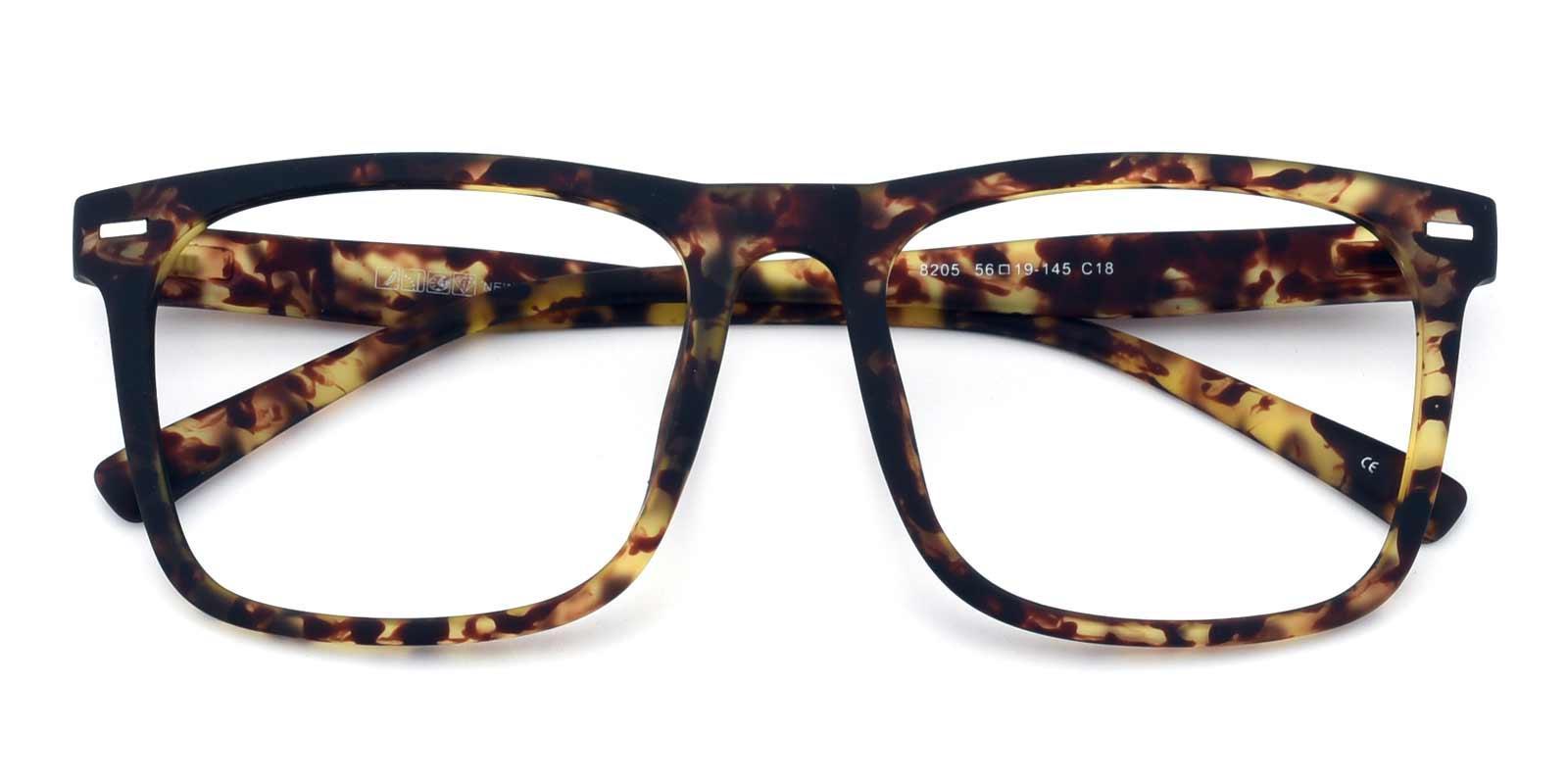 Flynn-Tortoise-Rectangle-TR-Eyeglasses-detail